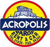 Acropolis Rent a Car Logo