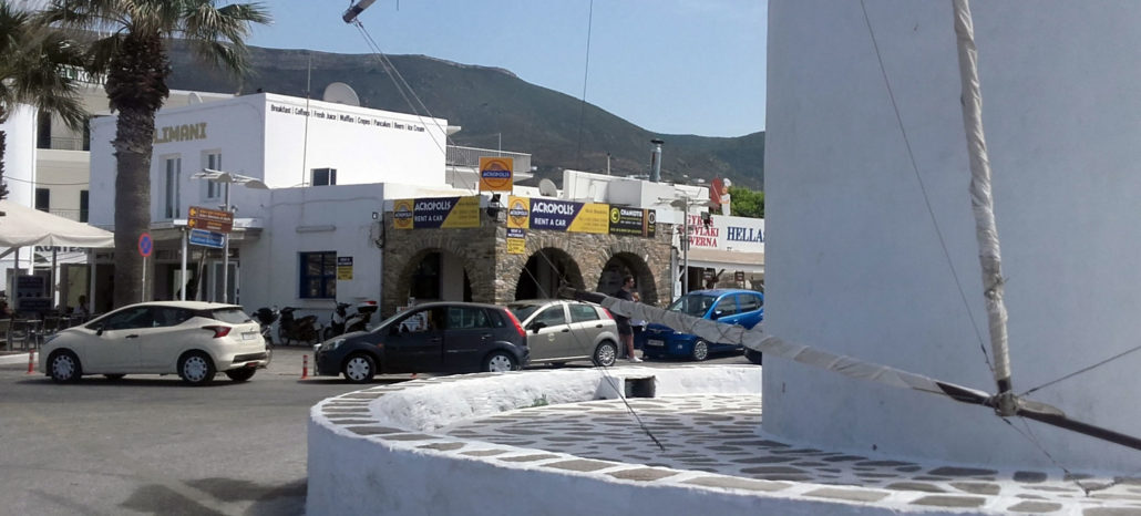 Acropolis car rental Parikia Port Office