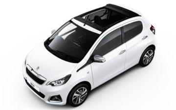 Peugeot 108 cabrio roof